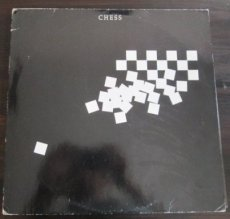 Andersson, B. Chess, the musical, 1984, vinyl dubbelelpee